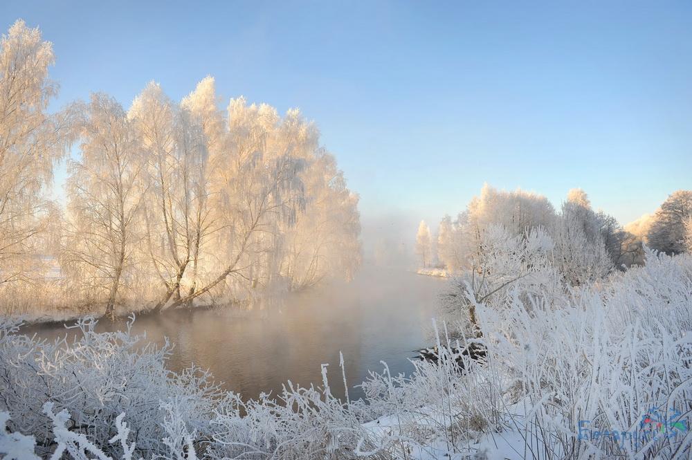Браславские озера зимой. Отдых в Беларуси зимой.
