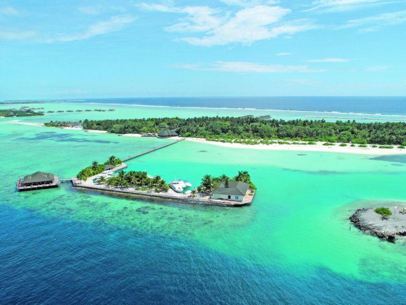Отдых на Мальдивах зимой.